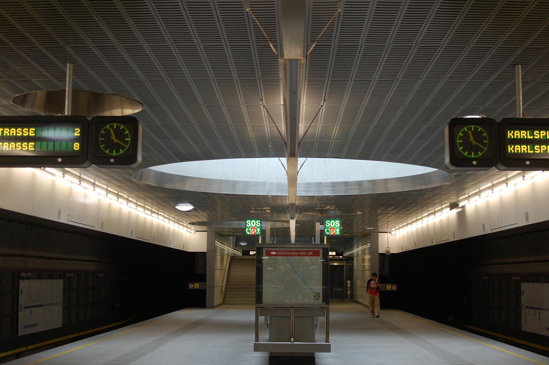 Kennzeichnung von barrierefreien U-Bahnen