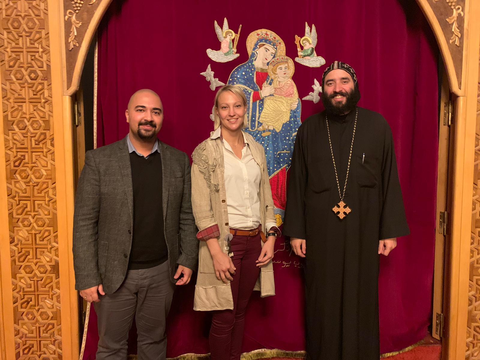 Besuch bei der koptischen Gemeinde