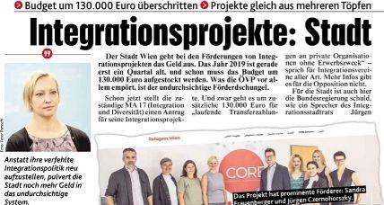Integration: Erste Budgetüberschreitung