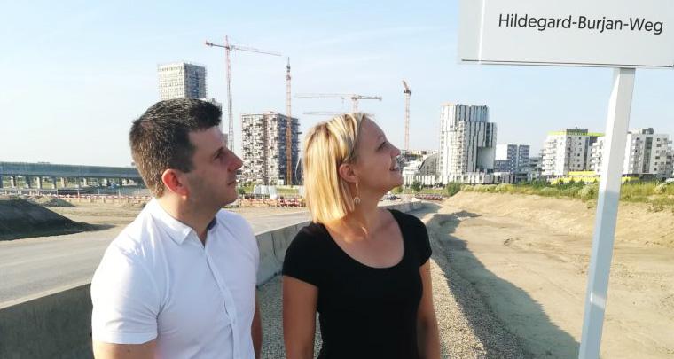 Skandalöses Kunstprojekt, Donaustadt
