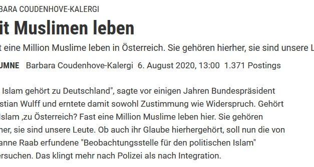 """Reaktion auf Standard-Beitrag """"Mit Muslimen leben"""""""