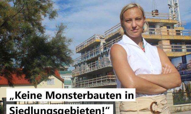 Keine Monsterbauten in Siedlungsgebieten